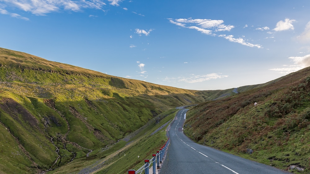 Buttertubs Pass between Thwaite and Simonstone, Yorkshire Dales, North Yorkshire, England, UK