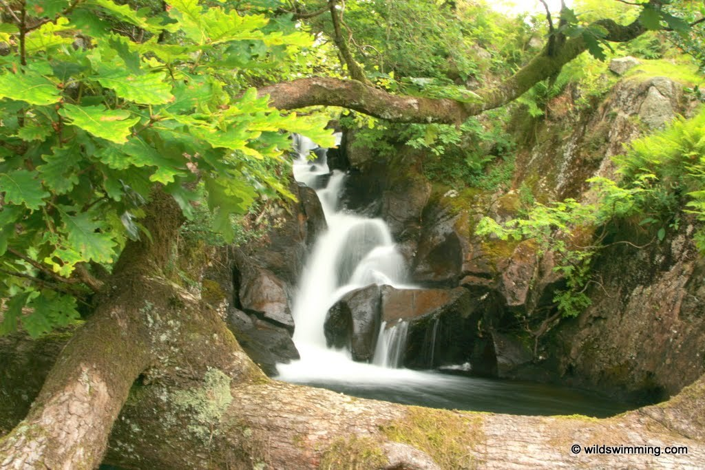 Double falls, Cumbria