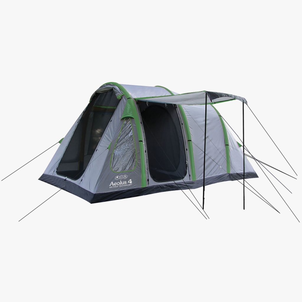 Highlander Aeolus 4 Man Inflatable Tent TEN141-G.S