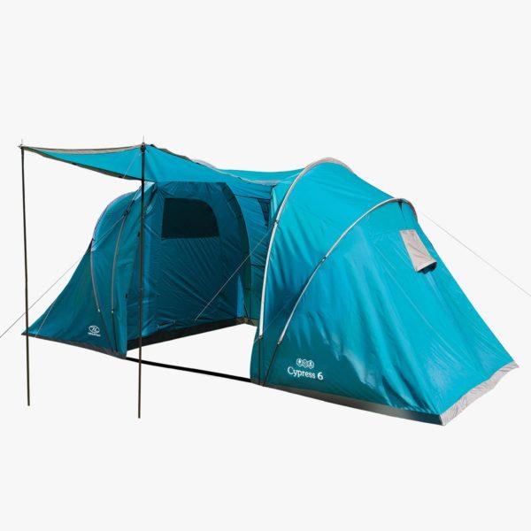 Highlander Cypress 6 Person Tent TEN123-TL