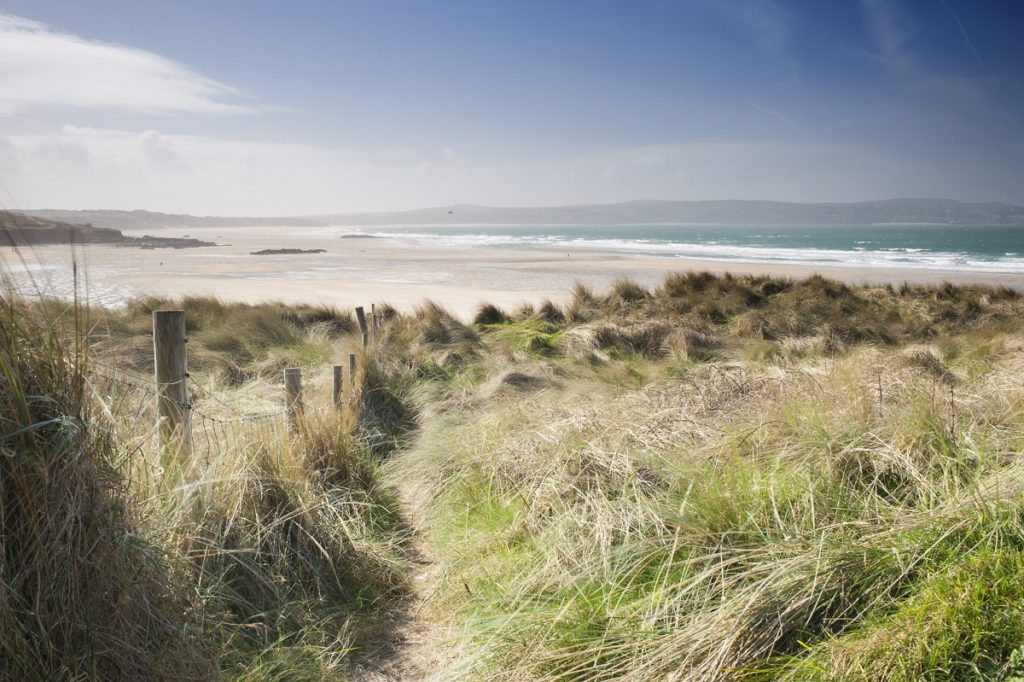 Sand-Dunes-to-Gwithian-Beach