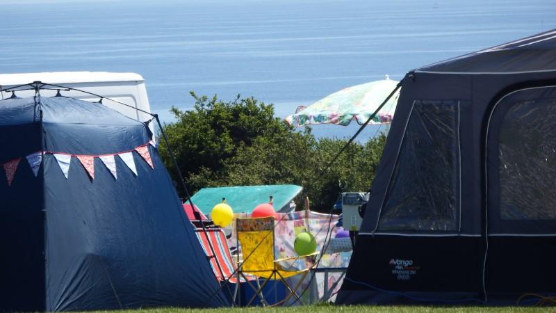 Treloan Coastal Holidays, Roseland Peninsula view