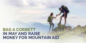 bag a corbett in mat and raise money for charity