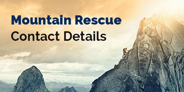 mountain rescue contact details