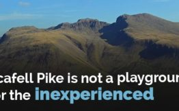 scafell pike is not a playground for the inexperienced