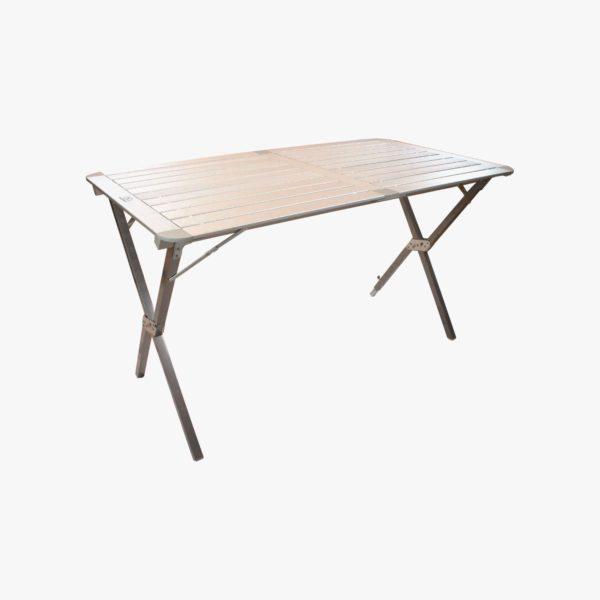 Highlander Outdoor Aluminium Slat Folding Table, Large FUR074