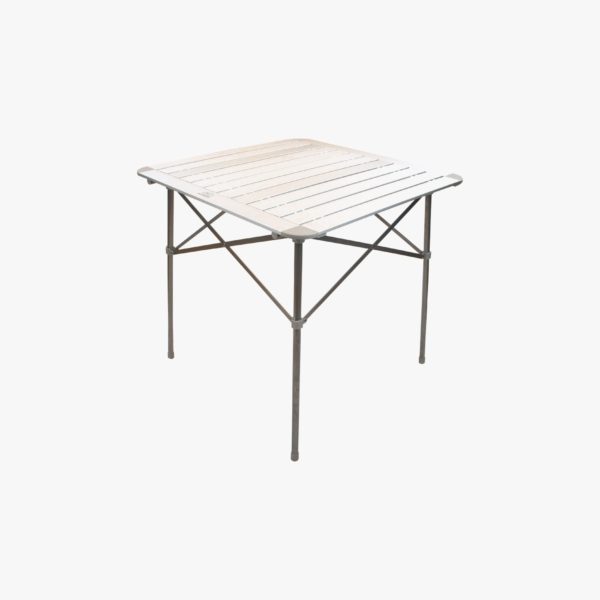 Highlander Outdoor Aluminium Slat Folding Table, Small FUR073