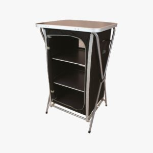 Highlander Outdoor Easy Fold Camp Cupboard 3Shelf FUR079