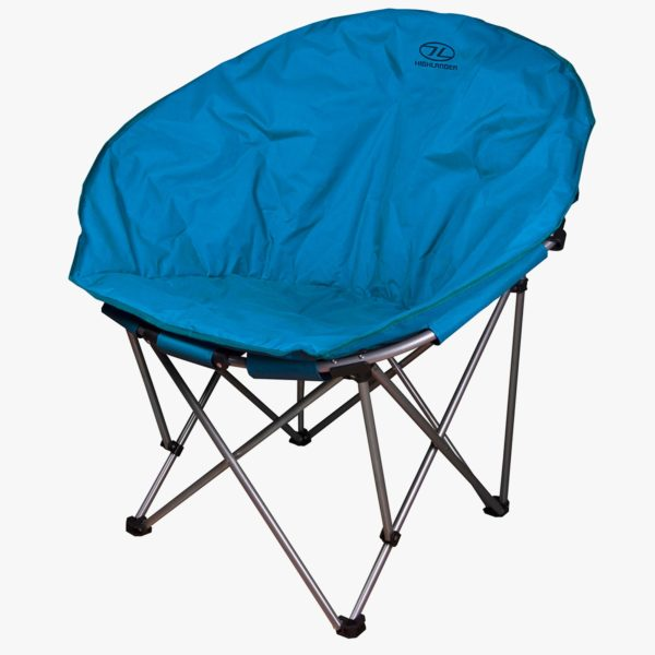 Highlander Outdoor Moon Chair Blue FUR085-DE