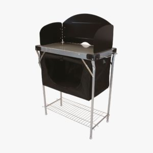 Highlander Outdoor Steel Kitchen Stand & Cupboard FUR080