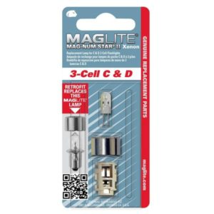 Maglite 3 Cell Magnum Star Xenon II Replacement Bulb - LMXA301