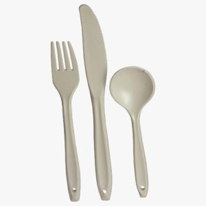 Polycarbonate Knife, Fork, Spoon CP003