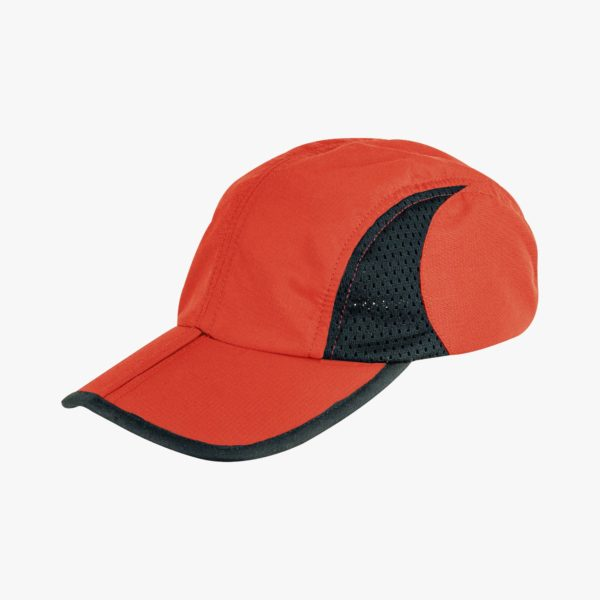 Trekker Cap With Pouch, Red HAT175-RD