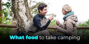 what food to take camping