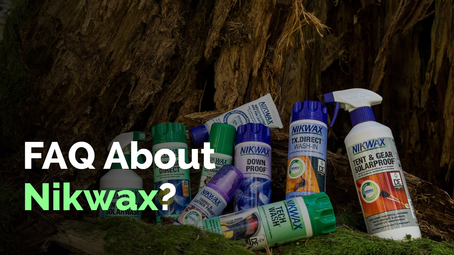 FAQ about Nikwax
