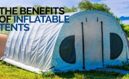 the benefits of inflatable tents