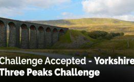 Challenge Accepted - Yorkshire Three Peaks Challenge