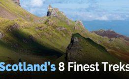 Scotlands 8 Finest Treks