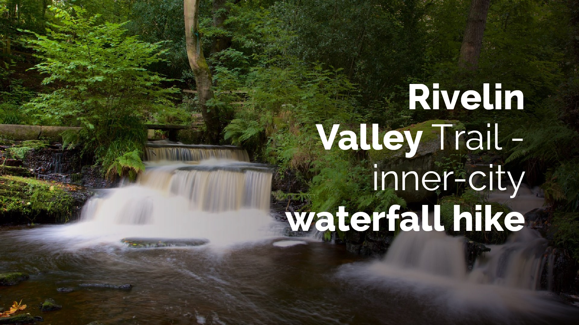 rivelin vally trial - inner city waterfall hike