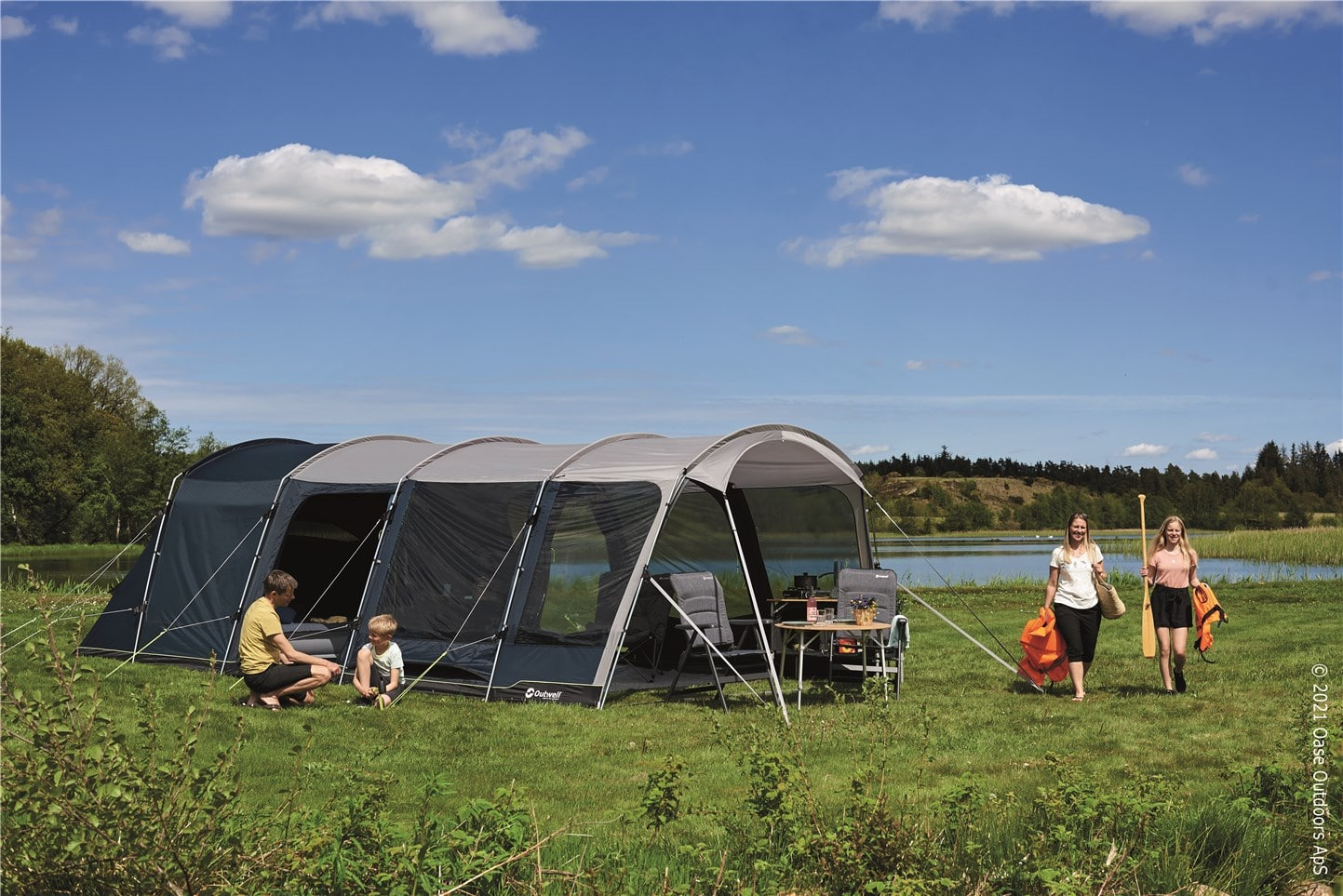 Outwell Tents Premium Collection