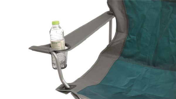Easy Camp Arm Chair Petrol Blue close up
