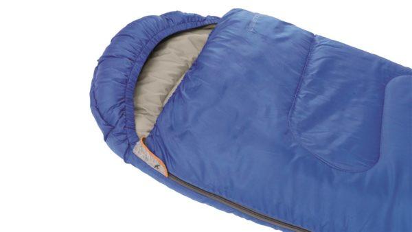 Easy Camp Cosmos Junior Sleeping Bag Blue close up