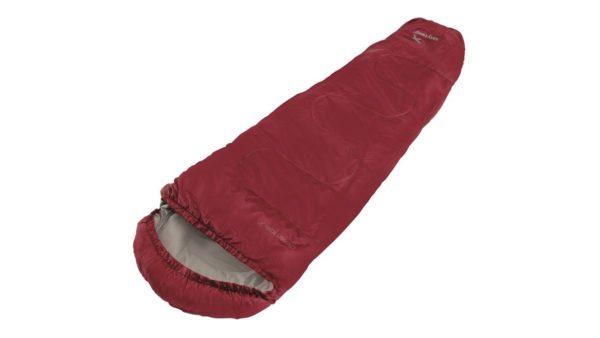 Easy Camp Cosmos Junior Sleeping Bag red zips