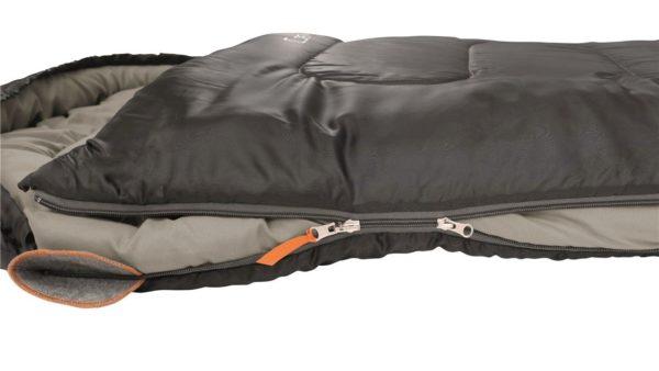 Easy Camp Cosmos Sleeping Bag Black Zips