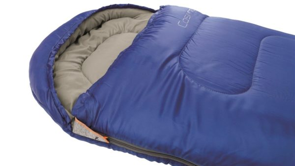 Easy Camp Cosmos Sleeping Bag Blue close up