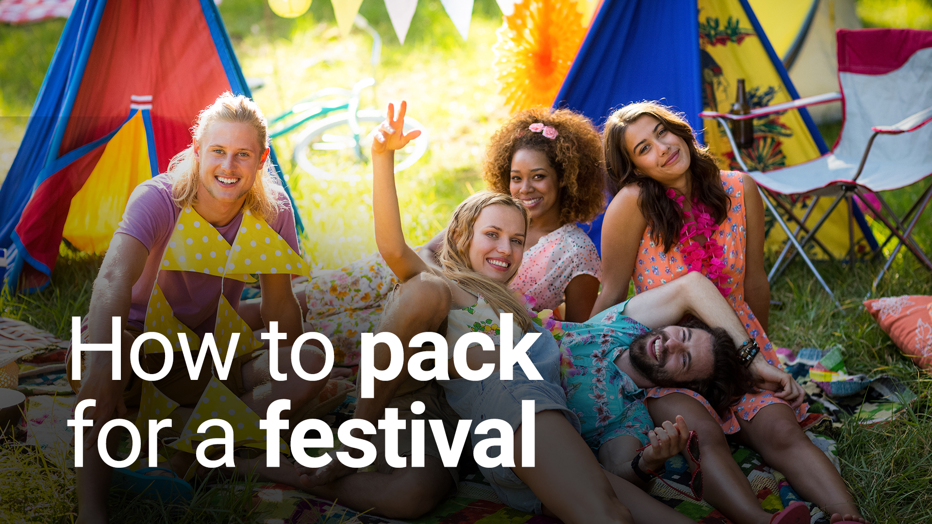 How to pack for a festival
