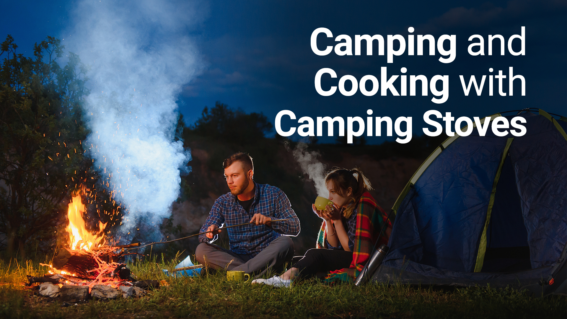 camping and cooking with camping stoves