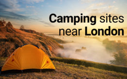 camping sites near London