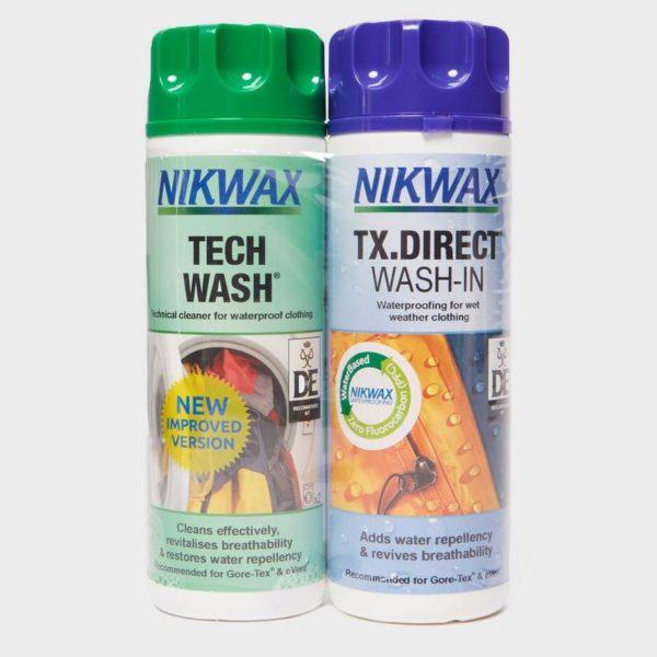 Nikwax Tech Wash and TX Direct 300ml Twin Pack