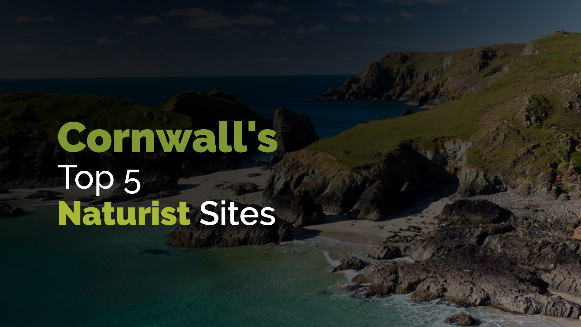 Cornwall's Top 5 Naturist Sites