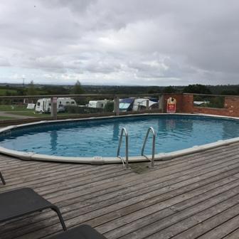 Acorns Naturist Retreat swimming pool