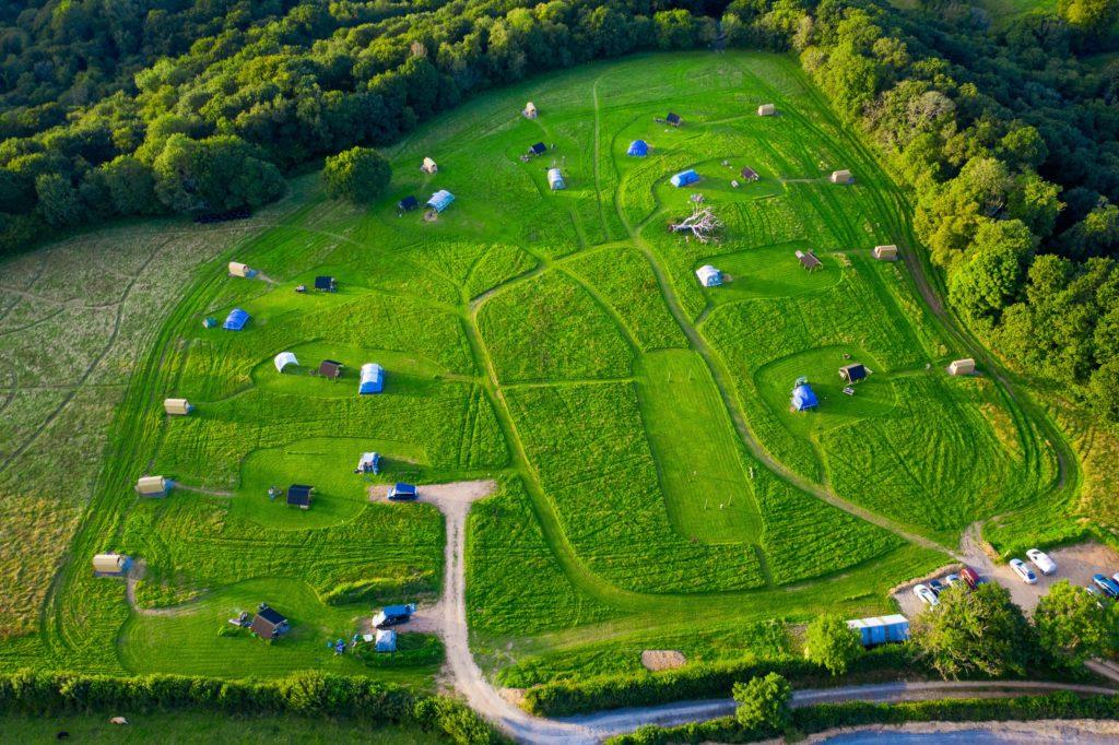 Cowpots Camping, Carmarthenshire