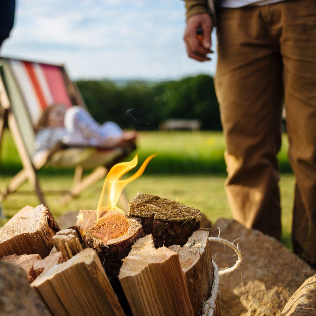 Cowpots Camping, Carmarthenshire fire