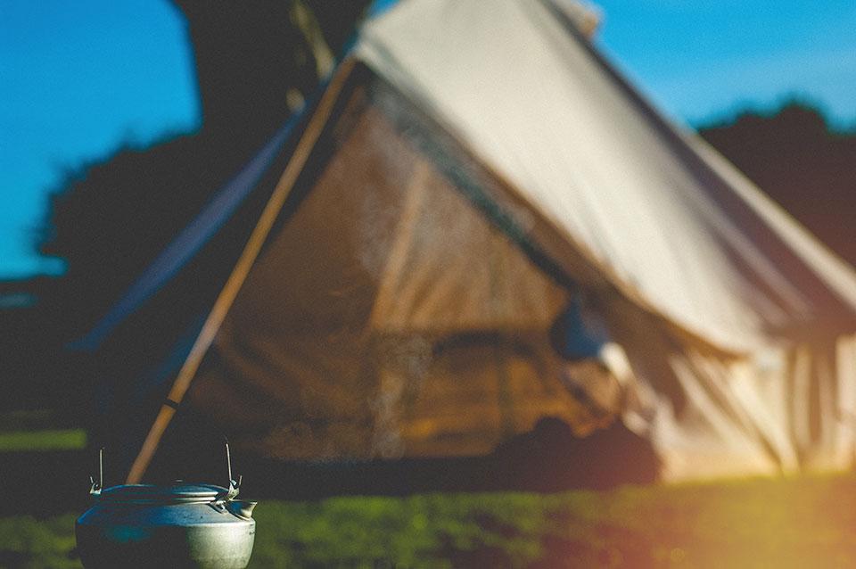 Rosecliston Park tent