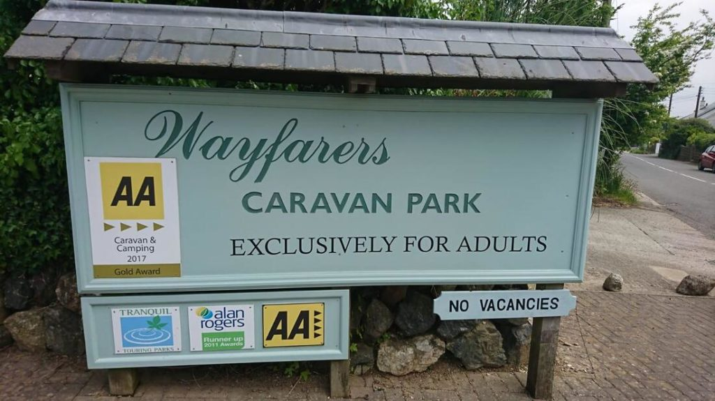 Wayfarers Caravan & Camping Park welcome