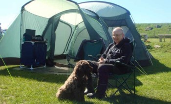 Herding Hill Farm Touring, Camping and Glamping Site in Haltwhistle grass pitch
