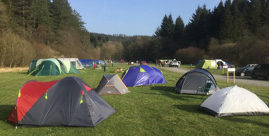 Kielder Village Camping and Caravan Site in Hexham